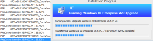 notice that the transfer of files via 1E Nomad shows accuracy to 3 decimal points yet the Progress bar rounds up.