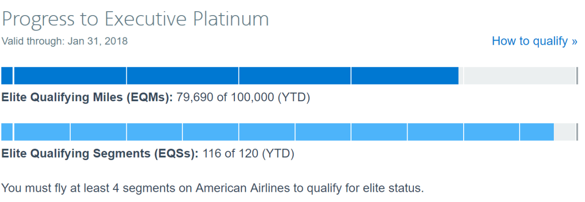American Airlines Executive Platinum – So close and yet 2016